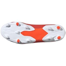Buty piłkarskie adidas Nemeziz 19.3 Ll Fg M F99997 czerwone czerwone 5