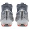 Buty piłkarskie Nike Mercurial Superfly 6 Elite Fg M AH7365-008 szary/srebrny szare 3