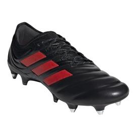 Buty piłkarskie adidas Copa 19.1 Sg M G26642 czarne wielokolorowe 3