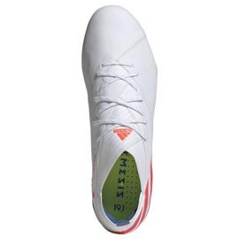 Buty piłkarskie adidas Nemeziz Messi 19.1 Fg M F34402 białe biały 2