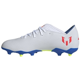 Buty piłkarskie adidas Nemeziz Messi 19.3 Fg M F34400 biały białe 1