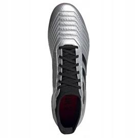 Buty piłkarskie adidas Predator 19.3 Ag M F99989 wielokolorowe srebrny 2
