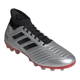 Buty piłkarskie adidas Predator 19.3 Ag M F99989 wielokolorowe srebrny 3