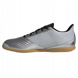 Buty halowe adidas Predator 19.4 In M F35630 szare wielokolorowe 1