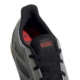 Buty halowe adidas Predator 19.4 In M F35630 szare wielokolorowe 3