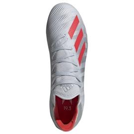 Buty piłkarskie adidas X 19.3 Ag M F35336 srebrny wielokolorowe 2