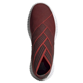 Buty piłkarskie adidas Nemeziz 19.1 Tr M F34731 czerwone czerwony 1