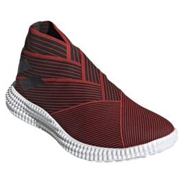 Buty piłkarskie adidas Nemeziz 19.1 Tr M F34731 czerwone czerwony 3