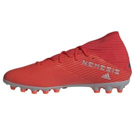 Buty piłkarskie adidas Nemeziz 19.3 Ag M F99994 czerwone czerwone 1