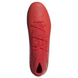 Buty piłkarskie adidas Nemeziz 19.3 Ag M F99994 czerwone czerwone 2