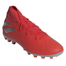 Buty piłkarskie adidas Nemeziz 19.3 Ag M F99994 czerwone czerwone 3