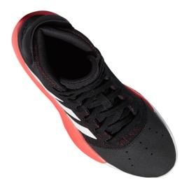 Buty koszykarskie adidas Pro Adversary 2019 M BB9192 czarne czarne 8
