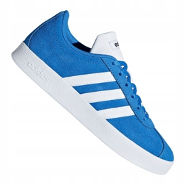 Buty adidas Vl Court 2.0 Jr F36376 niebieskie 2