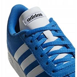 Buty adidas Vl Court 2.0 Jr F36376 niebieskie 3