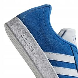 Buty adidas Vl Court 2.0 Jr F36376 niebieskie 6