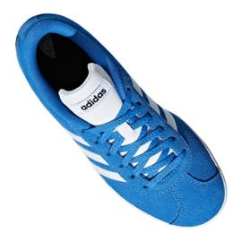 Buty adidas Vl Court 2.0 Jr F36376 niebieskie 10