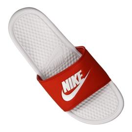 Klapki Nike Benassi Jdi Slide M 343880-106 czerwone 3