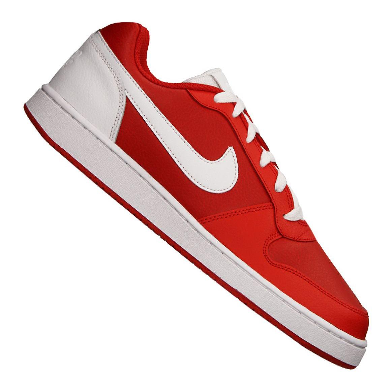 Czerwone Buty Nike Ebernon Low M AQ1775 600