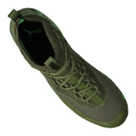 Buty halowe Puma 365 Ignite Fuse 1 M 105514-01 zielone zielony 6