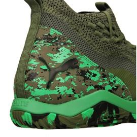 Buty halowe Puma 365 Ignite Fuse 1 M 105514-01 zielone zielony 8