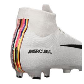 Buty piłkarskie Nike Superfly 6 Elite Fg M AJ3547-009 białe białe 2