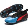Buty piłkarskie Puma One 19.2FG Ag M 105484 01 czarny, niebieski czarne 3