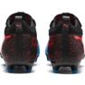 Buty piłkarskie Puma One 19.2FG Ag M 105484 01 czarny, niebieski czarne 4