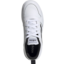 Buty adidas Tensaur K Jr EF1085 białe 2