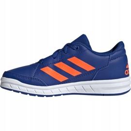 Buty adidas AltaSport K Jr G27095 niebieskie 1