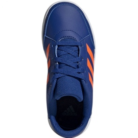 Buty adidas AltaSport K Jr G27095 niebieskie 2