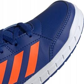 Buty adidas AltaSport K Jr G27095 niebieskie 3
