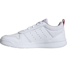 Buty adidas Tensaur K Jr EF1088 białe 1