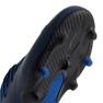 Buty piłkarskie adidas Nemeziz 19.1 Fg Jr CF99957 niebieski niebieskie 2