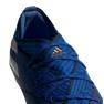 Buty piłkarskie adidas Nemeziz 19.1 Fg Jr CF99957 niebieski niebieskie 6