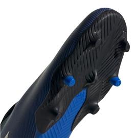 Buty piłkarskie adidas Nemeziz 19.3 Ll Fg M EF0373 granatowy niebieskie 1