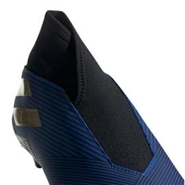 Buty piłkarskie adidas Nemeziz 19.3 Ll Fg M EF0373 granatowy niebieskie 2