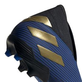 Buty piłkarskie adidas Nemeziz 19.3 Ll Fg M EF0373 granatowy niebieskie 3