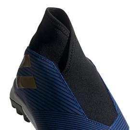 Buty piłkarskie adidas Nemeziz 19.3 Ll Tf M EF0387 niebieskie granatowy 1