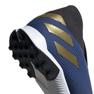 Buty piłkarskie adidas Nemeziz 19.3 Ll Tf M EF0387 niebieskie granatowy 5