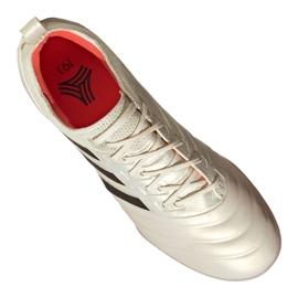 Buty piłkarskie adidas Copa 19.1 Tf M BC0563 biały beżowy 3