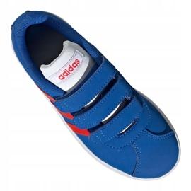 Buty adidas Vl Court 2.0 Cmf C Jr EE6904 niebieskie 2