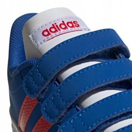 Buty adidas Vl Court 2.0 Cmf C Jr EE6904 niebieskie 4