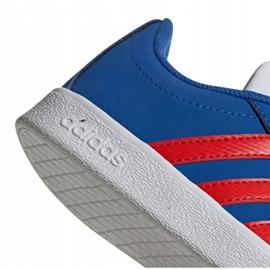 Buty adidas Vl Court 2.0 Cmf C Jr EE6904 niebieskie 5