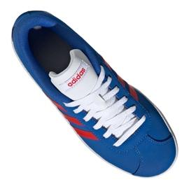 Buty adidas Vl Court 2.0 Jr EE6902 niebieskie 2