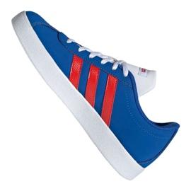 Buty adidas Vl Court 2.0 Jr EE6902 niebieskie 5
