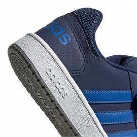 Buty adidas Hoops 2.0 Cmf C Jr EE9000 granatowe 1