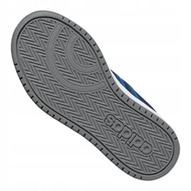 Buty adidas Hoops 2.0 Cmf C Jr EE9000 granatowe 4