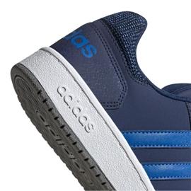 Buty adidas Hoops 2.0 K Jr EE8999 granatowe 1