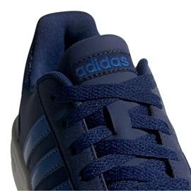 Buty adidas Hoops 2.0 K Jr EE8999 granatowe 2