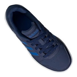 Buty adidas Hoops 2.0 K Jr EE8999 granatowe 3